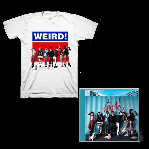 √Weird! (CD + Signed Card + T-Shirt) von Yungblud - CD Bundle jetzt im Yungblud Shop